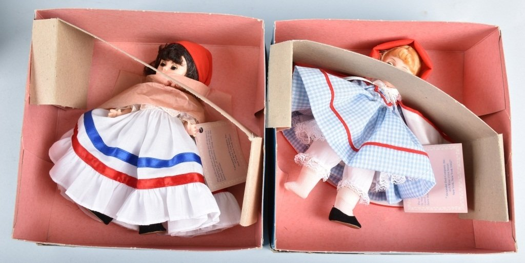 6-MADAM ALEXANDER DOLLS, BOXED - 2