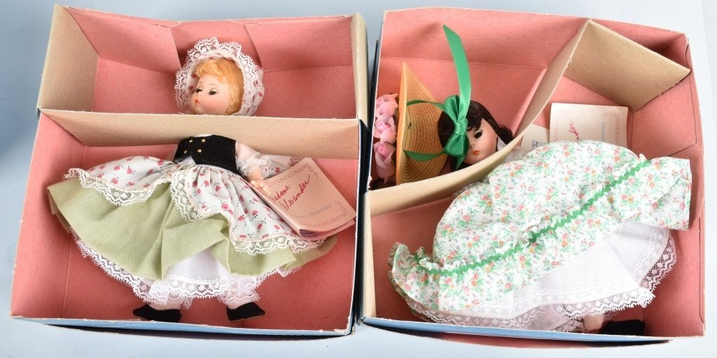 6-MADAM ALEXANDER DOLLS, BOXED - 3