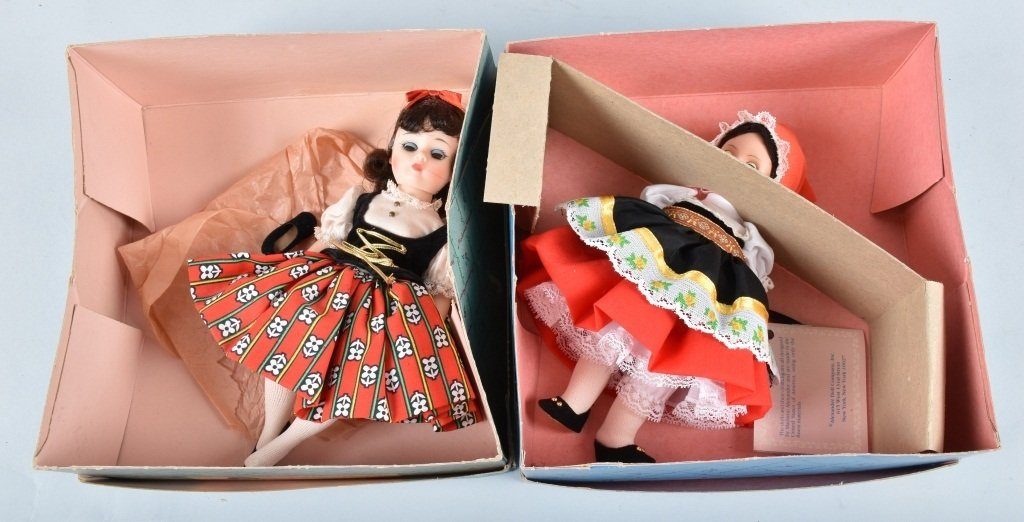6-MADAM ALEXANDER DOLLS, BOXED - 4
