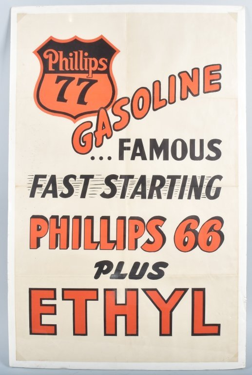 PHILLIPS 66 GASOLINE POSTER