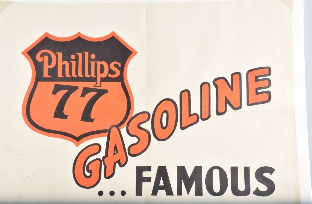 PHILLIPS 66 GASOLINE POSTER - 2