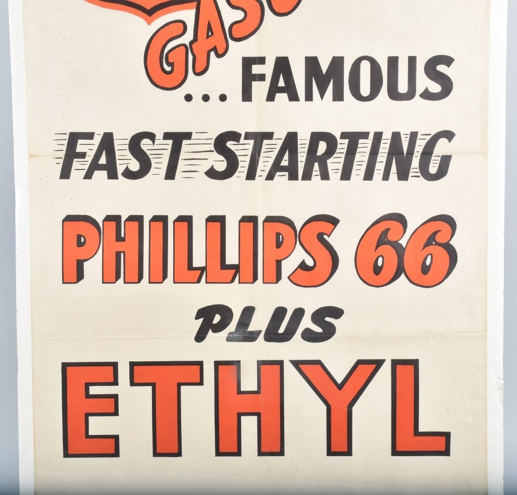 PHILLIPS 66 GASOLINE POSTER - 3
