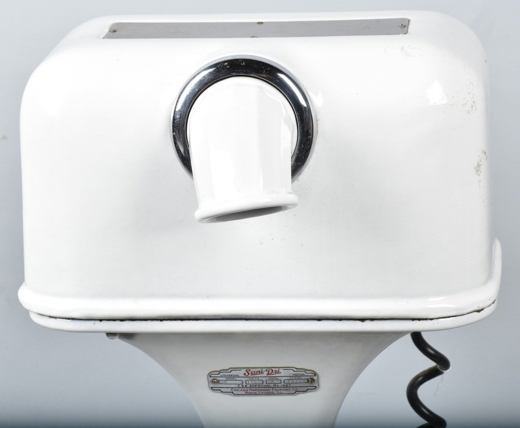 SANI-DRI PORCELAIN COVERED HAND DRYER - 2