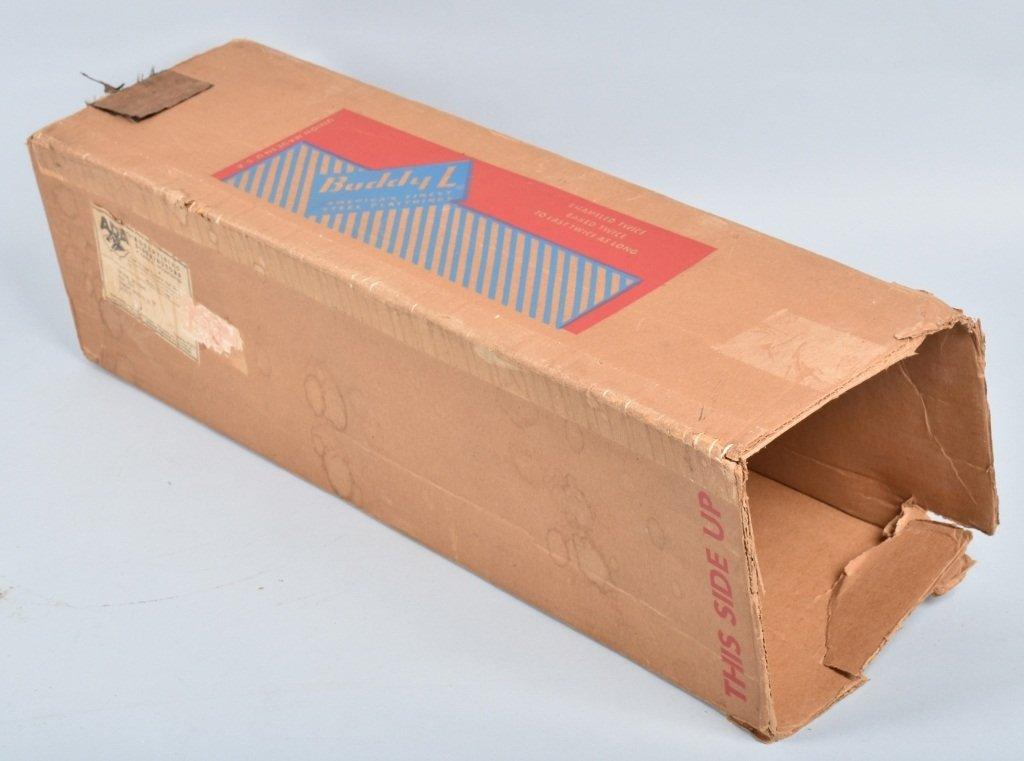 BUDDY L Pressed Steel TEXACO TANK TRUCK w/ BOX - 7