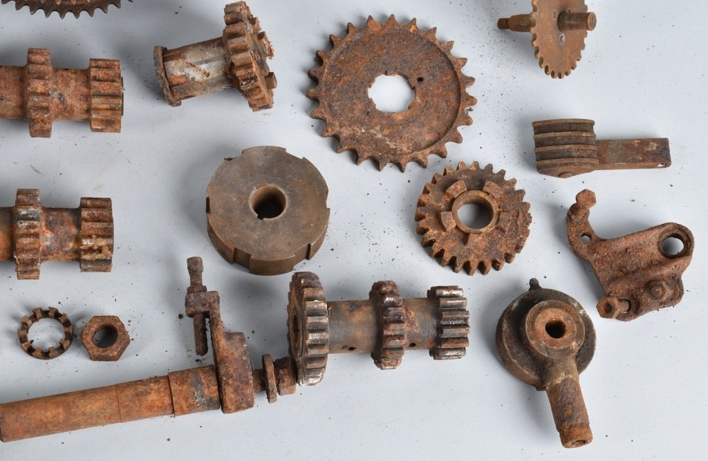 LARGE LOT of EARLY MOTORCYCLE GEARS & MORE - 5