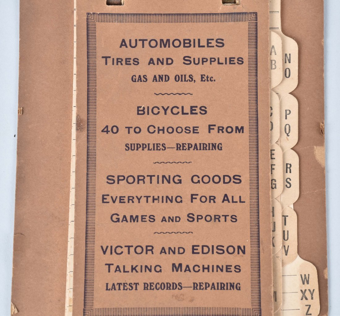 1896 WAVERLY BICYCLE CALENDAR and MORE - 5