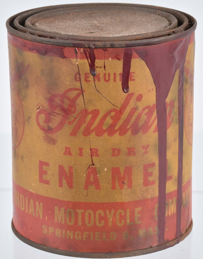 INDIAN MOTORCYCLE 1 QUART PAINT CAN