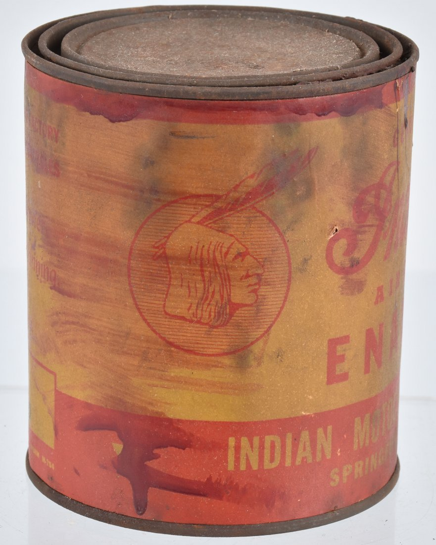 INDIAN MOTORCYCLE 1 QUART PAINT CAN - 2