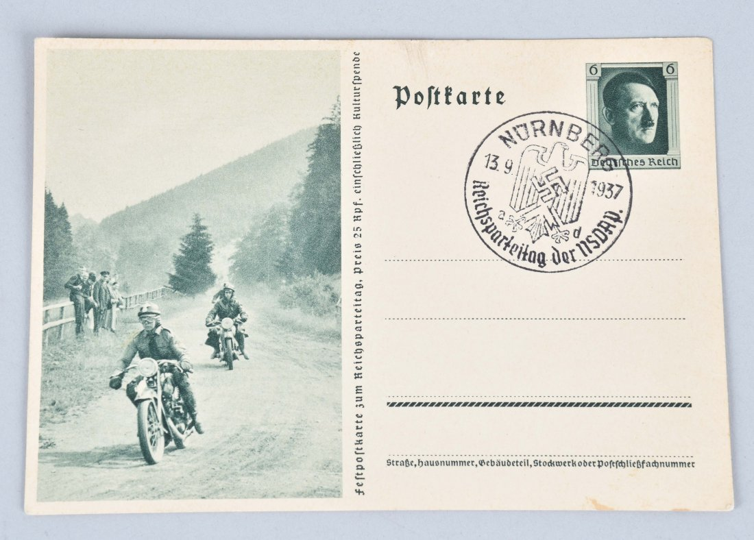 WW2 NAZI GERMANY MOTORCYCLE PAPER LOT - 6