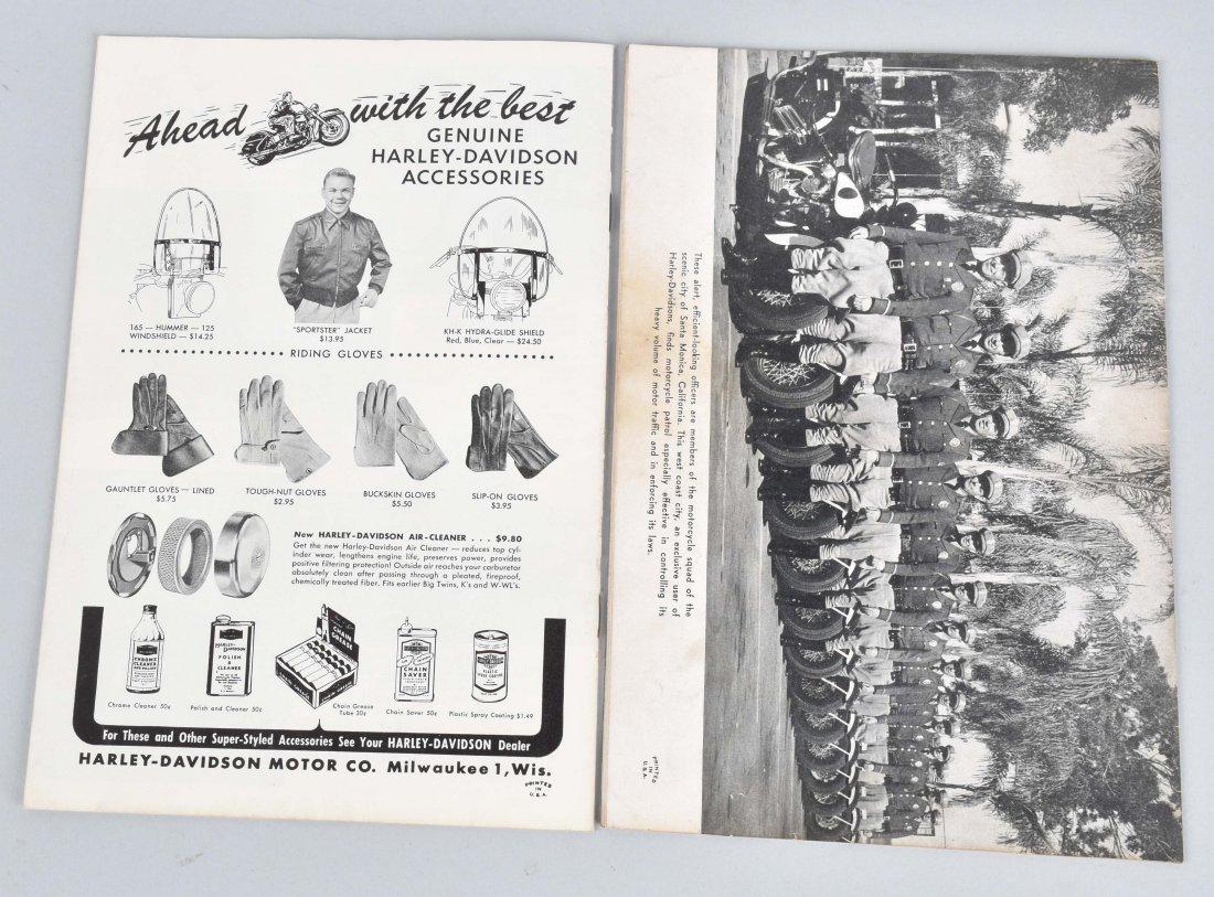 2-HARLEY DAVIDSON ENTHUSIAST MAGS, 1949, 1956 - 4