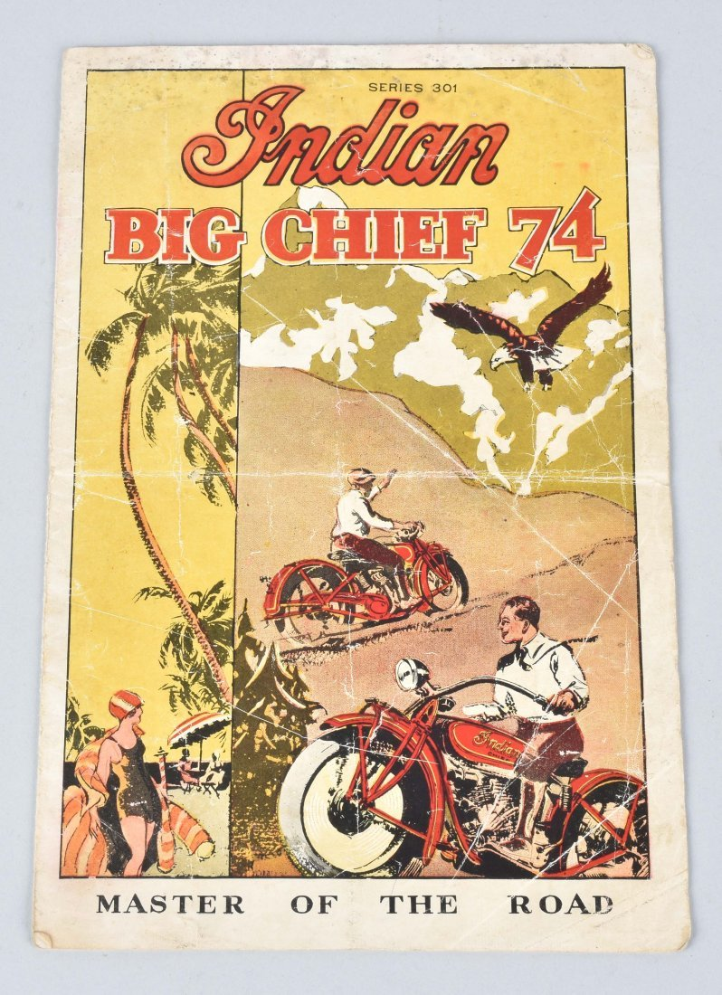INDIAN BIG CHIEF SERIES 301 DEALER BROCHURE