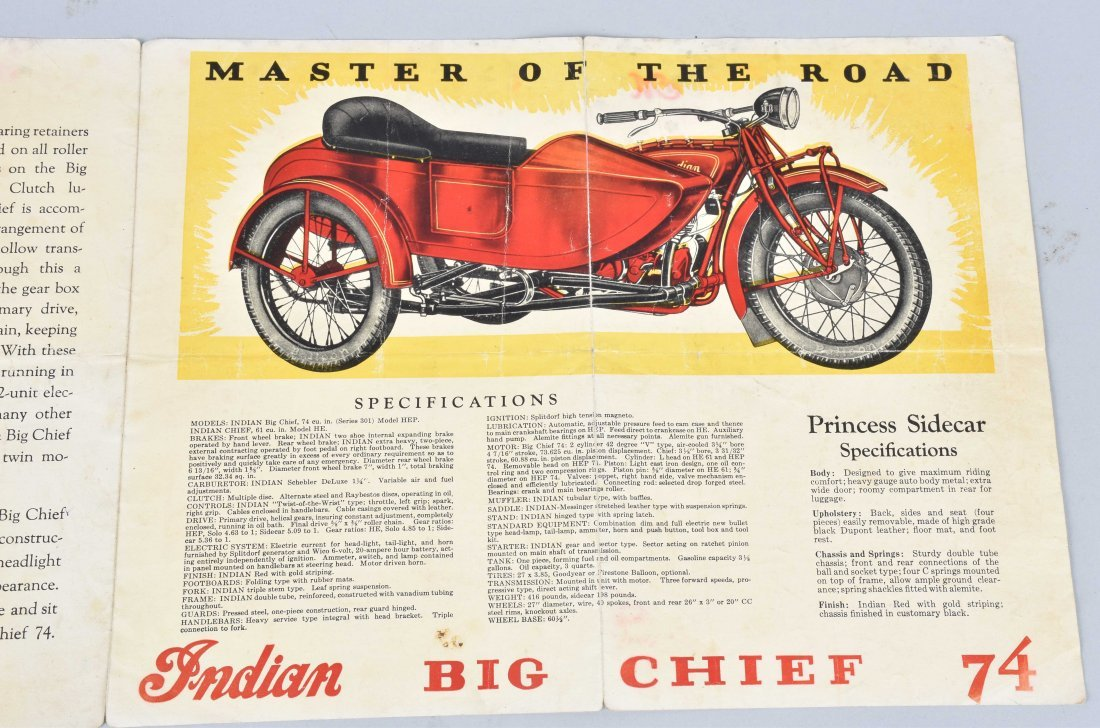 INDIAN BIG CHIEF SERIES 301 DEALER BROCHURE - 4