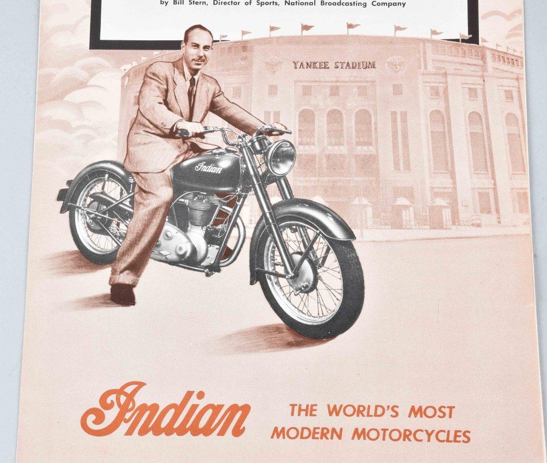 1948 INDIAN MOTORCYCLE BROCHURE, ARROW MODEL - 2