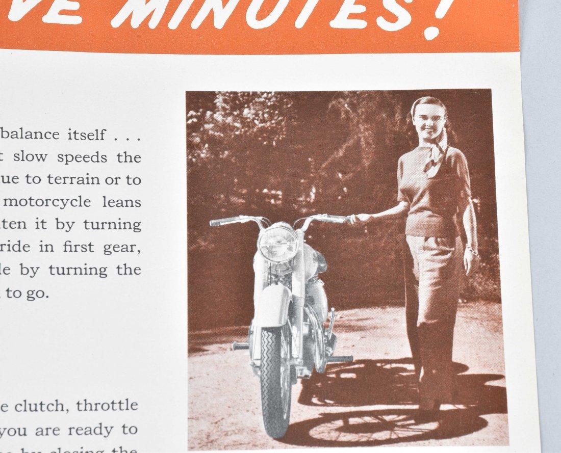 1948 INDIAN MOTORCYCLE BROCHURE, ARROW MODEL - 6
