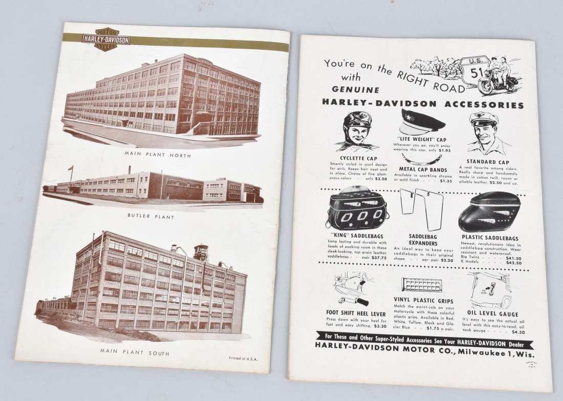 2-HARLEY DAVIDSON ENTHUSIAST MAGS, 1953, 1955 - 3