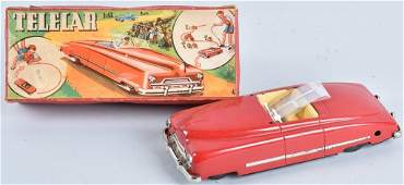 US ZONE GERMANY Tin Windup TELECAR w/ BOX