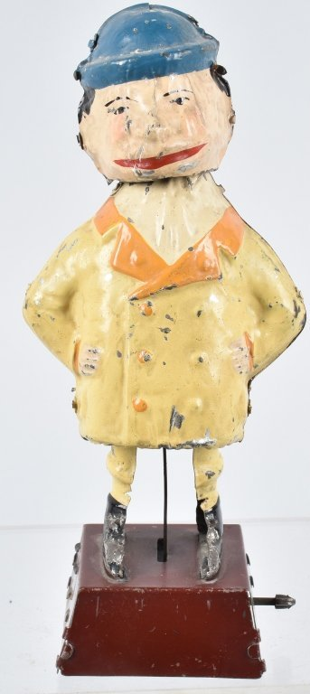 GUNTHERMANN Painted Tin Windup GENTLEMAN