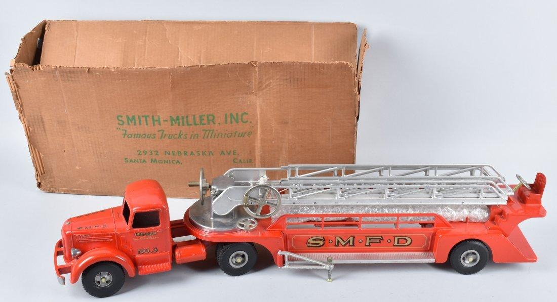 SMITH MILLER AERIAL LADDER TRUCK w/BOX