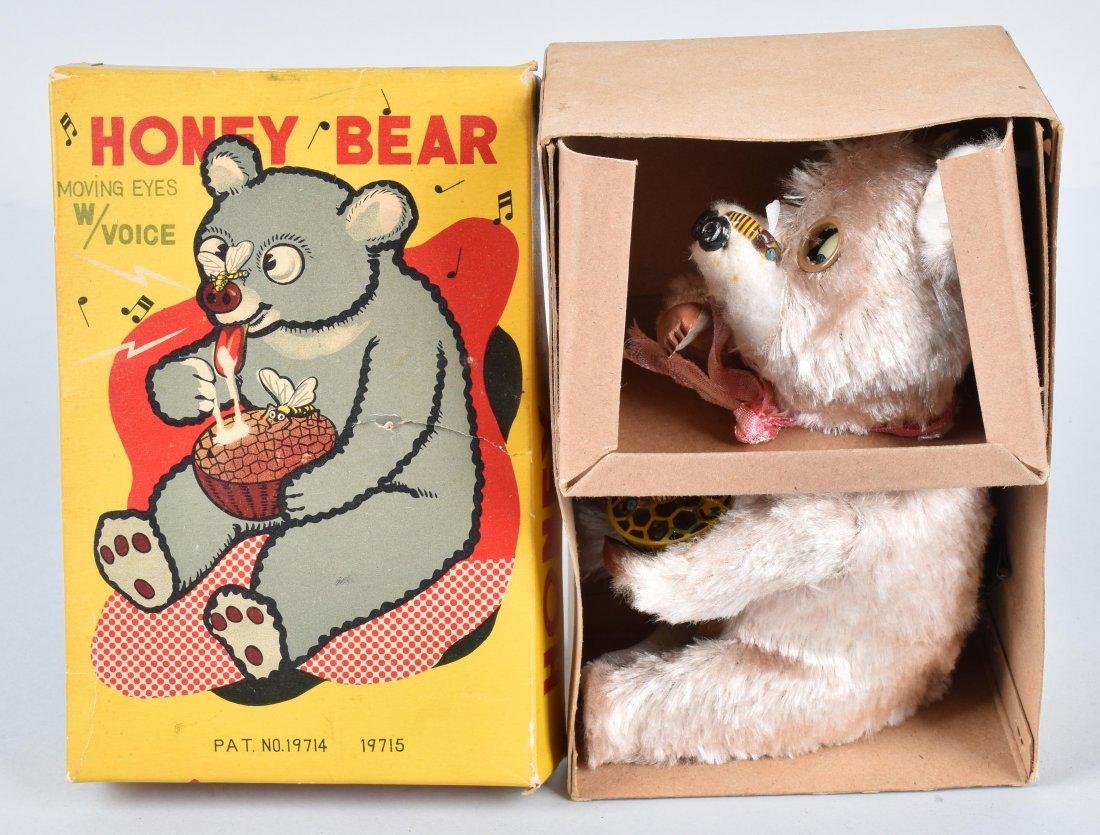 JAPAN Windup HONEY BEAR w/ BOX