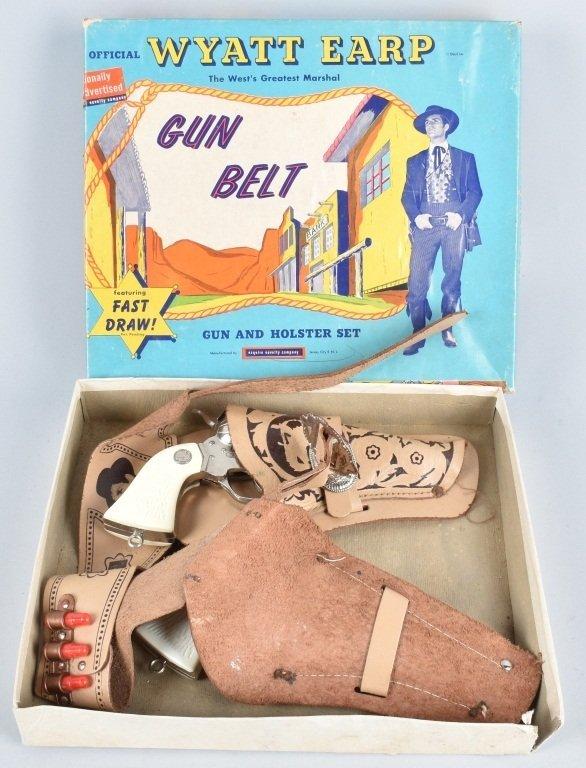 ESQUIRE WYATT EARP GUN BELT, BOXED