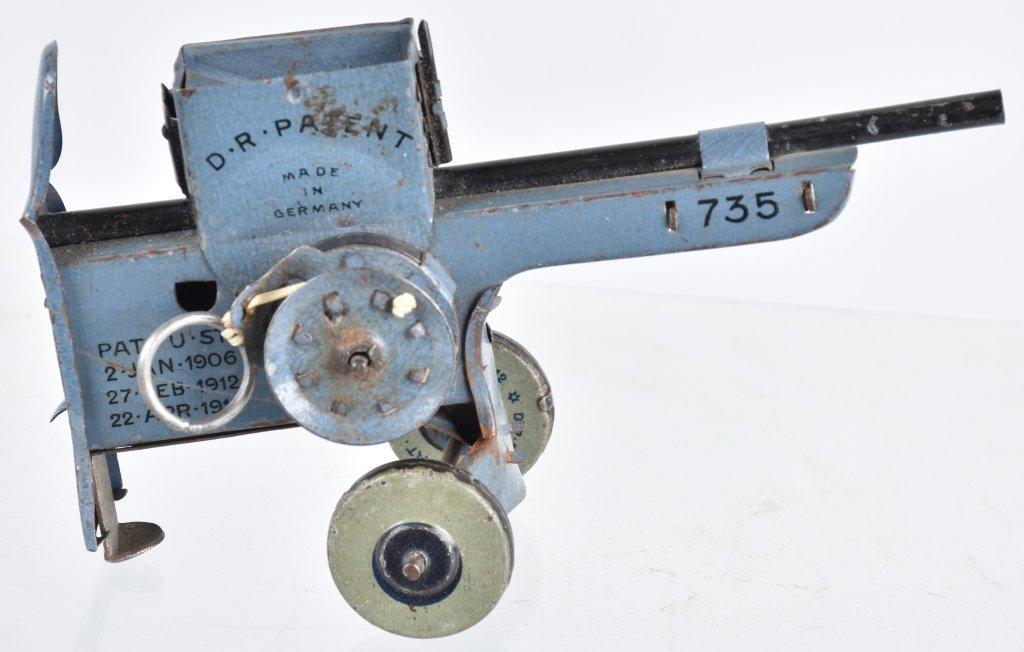 GERMAN LEHMANN NO. 735, MACHINE GUN