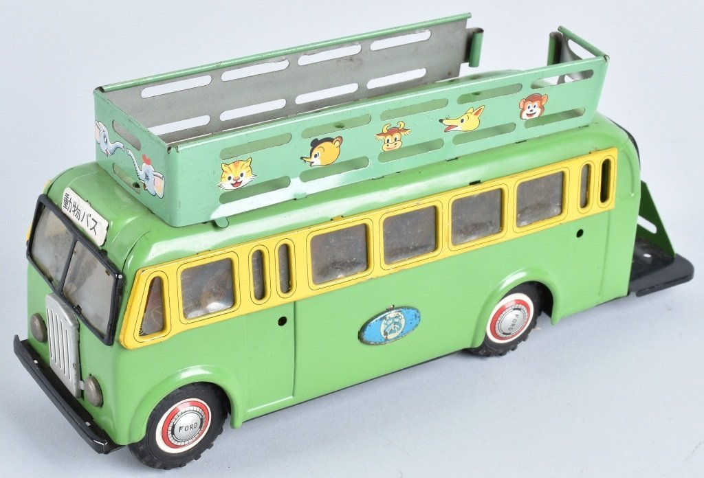 JAPAN TIN FRICTION FORD BUS
