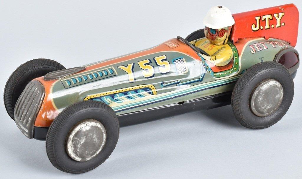 LARGE TIN JAPAN J.T.Y FRICTION RACE CAR
