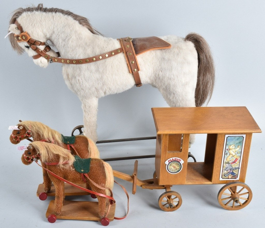 LOTof STEIFF HORSES and MORE