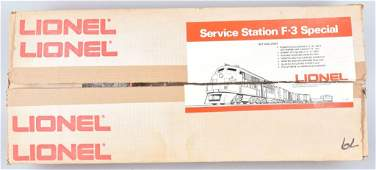 LIONEL SERVICE STATION F-3 TRAIN SET, BOXED