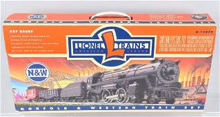 LIONEL NORFOLK  WESTERN 027 TRAIN SET BOXED