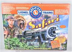 LIONEL SAFARI 027 TRAIN SET BOXED