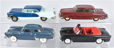 4- 50s-60s OLDSMOBILE, NASH & MORE PROMO CARS