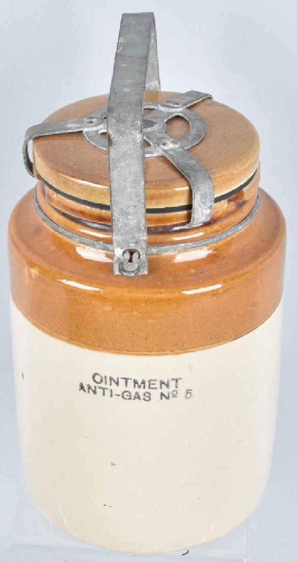 OINTMENT ANTI-GAS #5 CROCK JAR w/ LID