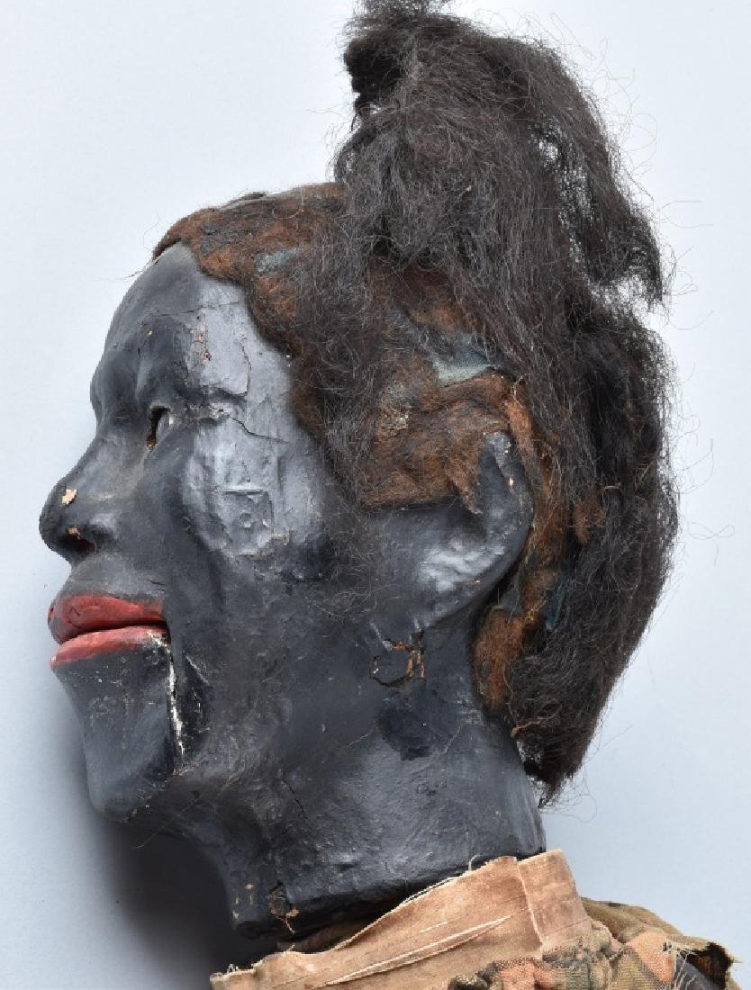 VINTAGE BLACK VENTRILOQUIST DUMMY - 7