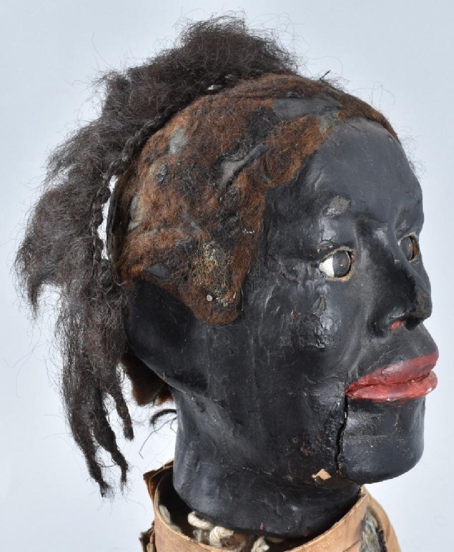 VINTAGE BLACK VENTRILOQUIST DUMMY - 8