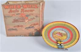 MARX Tin Windup WHEE-WHIZ AUTO RACER w/ BOX