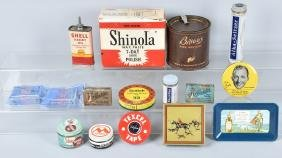 17-ADVERTISING TINS and PACKAGING