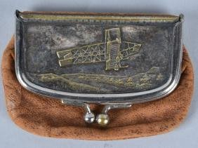 1910-15 YOUNGSTOWN MILK CO, AVIATION COIN PURSE
