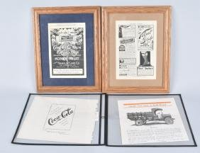 4-EARLY COCA COLA ADVERTISEMENTS