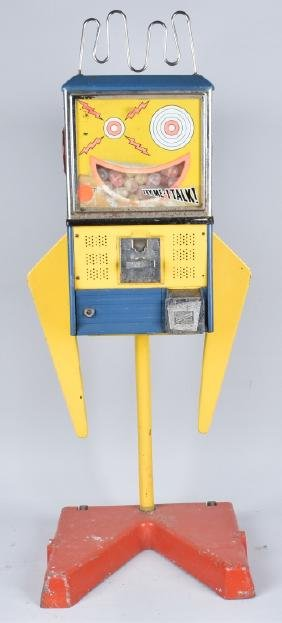 MOUTHY MARVIN ROBOT VENDING MACHINE, VINTAGE