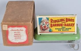 AMERICAN FLYER #577 RINGLING CIRCUS SIGN w/BOX