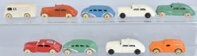 9- Early SLUSH MOLD TOY CARS