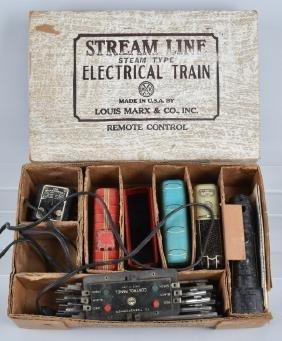 MARX STREAMLINE TRAIN SET w/ BOX
