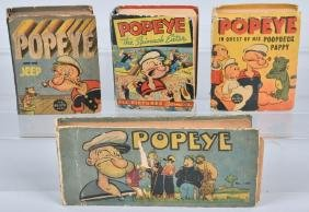 4- POPEYE BIG LITTLE BOOKS