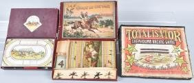 3-HORSE and GREYHOUND RACING GAMES