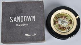 SANDOWN HORSE RACE, ROULETTE WHEEL GAME, BOXED