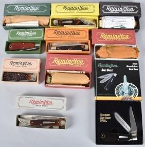 10-REMINGTON BOXED KNIVES