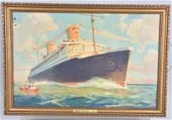 WW2 NORTH GERMAN LLOYD, BREMEN SHIP PICTURE