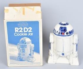1977 STAR WARS ROMAN CERAMIC R2-D2 COOKIE JAR MIB
