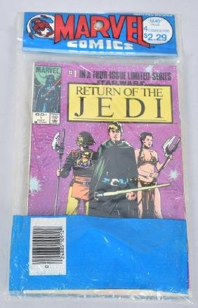 MARVEL RETURN OF THE JEDI COMICS 1-4 SEALED